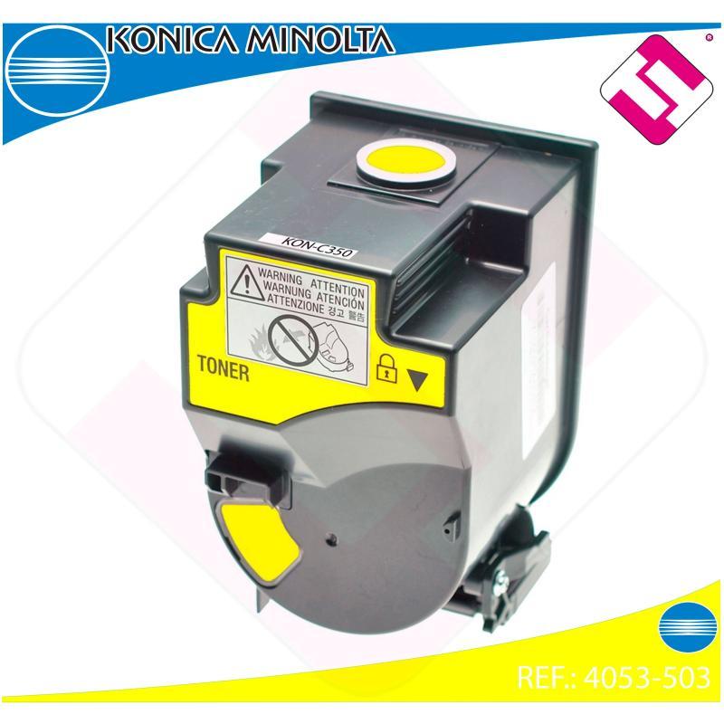 KONICA MINOLTA TONER COPIADORA AMARILLO TN310Y BIZHUB/C350/C