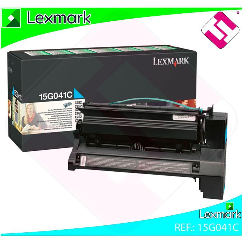 LEXMARK UNIDAD DE IMPRESION CIAN 6.000 PAGINAS LEXMARK C/752
