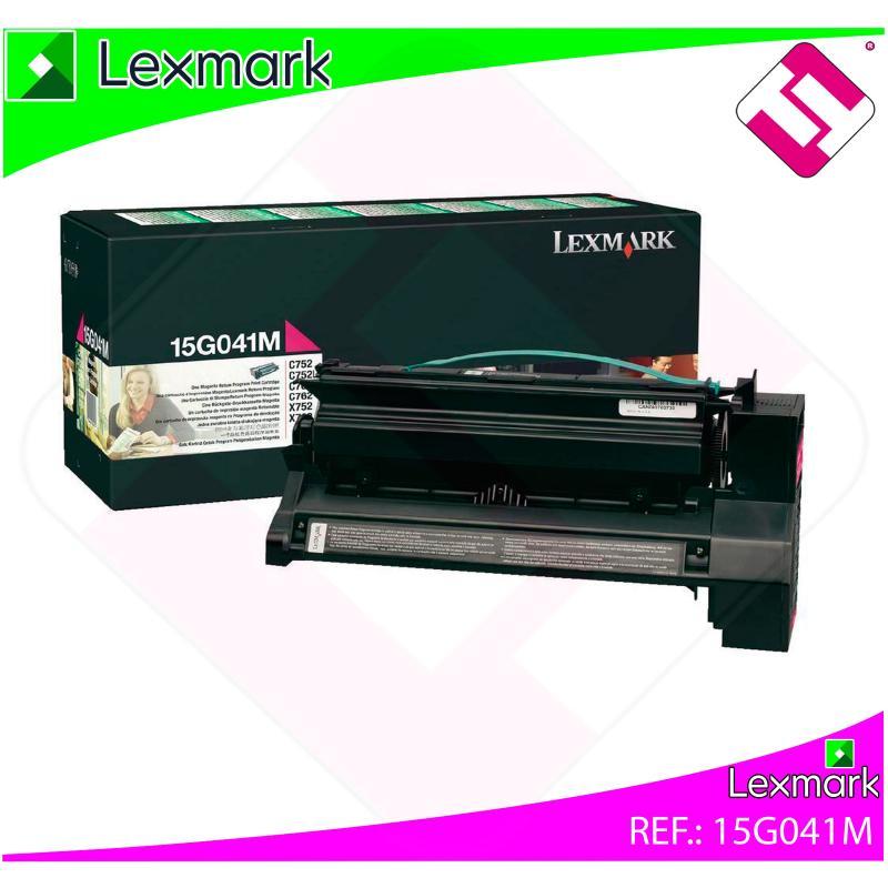 LEXMARK UNIDAD DE IMPRESION MAGENTA 6.000 PAGINAS LEXMARK C/