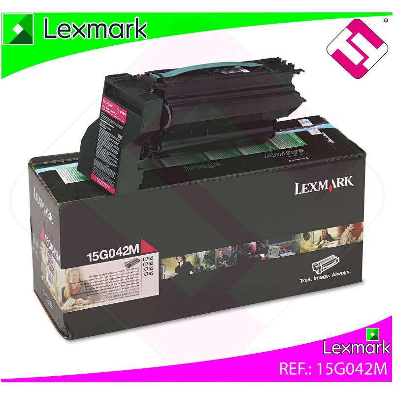 LEXMARK UNIDAD DE IMPRESION MAGENTA 15.000 PAGINAS LEXMARK C