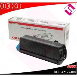 OKI TONER LASER NEGRO C6 5.000 PAGINAS C/5100/5200/5300/5400
