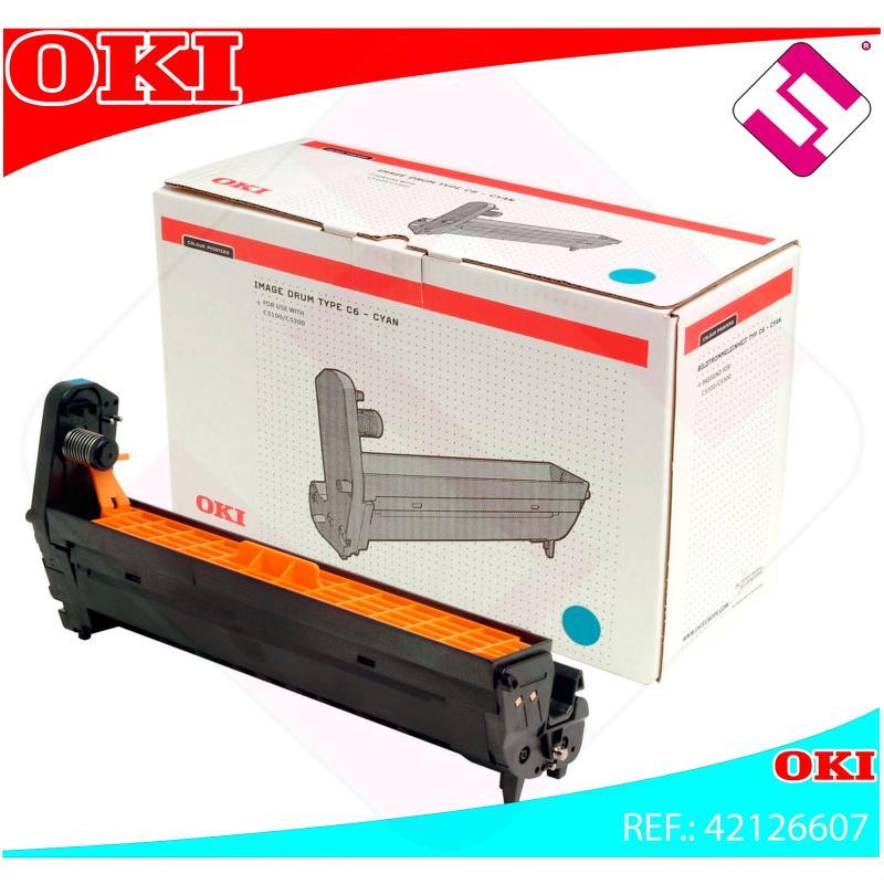 OKI TAMBOR LASER CIAN C6 17.000 PAGINAS C/5100/5200/5300/540