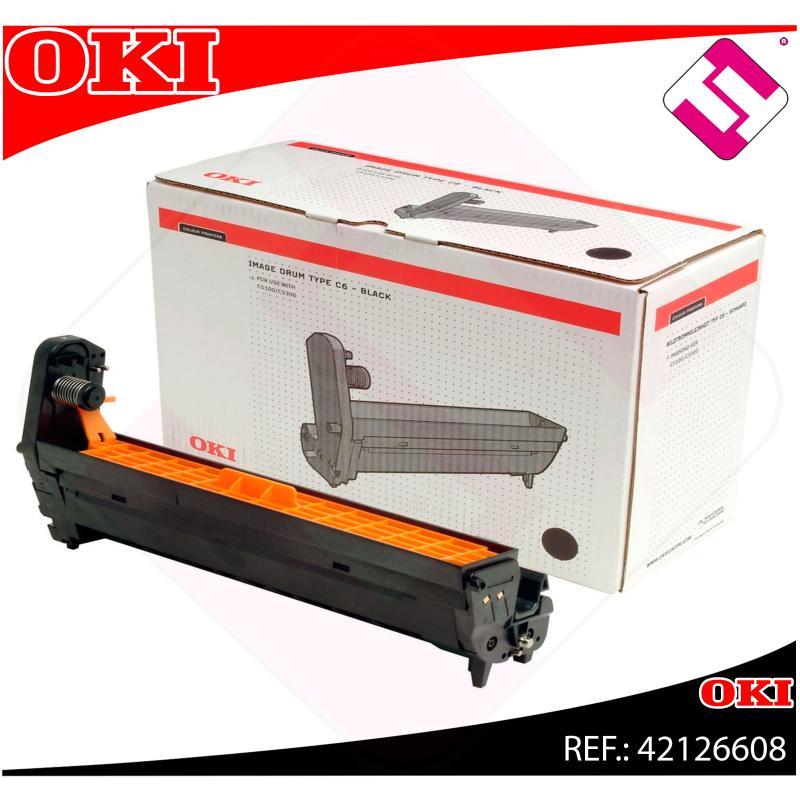OKI TAMBOR LASER NEGRO C6 17.000 PAGINAS C/5100/5200/5300/54