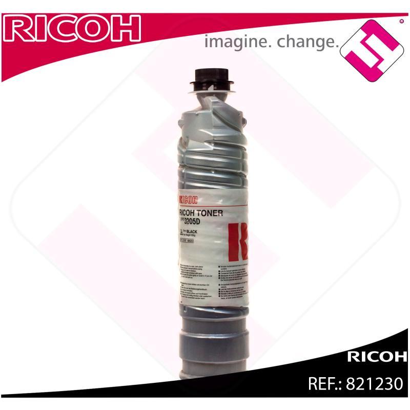 RICOH TONER COPIADORA TYPE 3205D AFICIO/1035/1045/AP4510/SP8