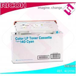 RICOH TONER LASER CIAN TYPE 140 CL/800/PONER