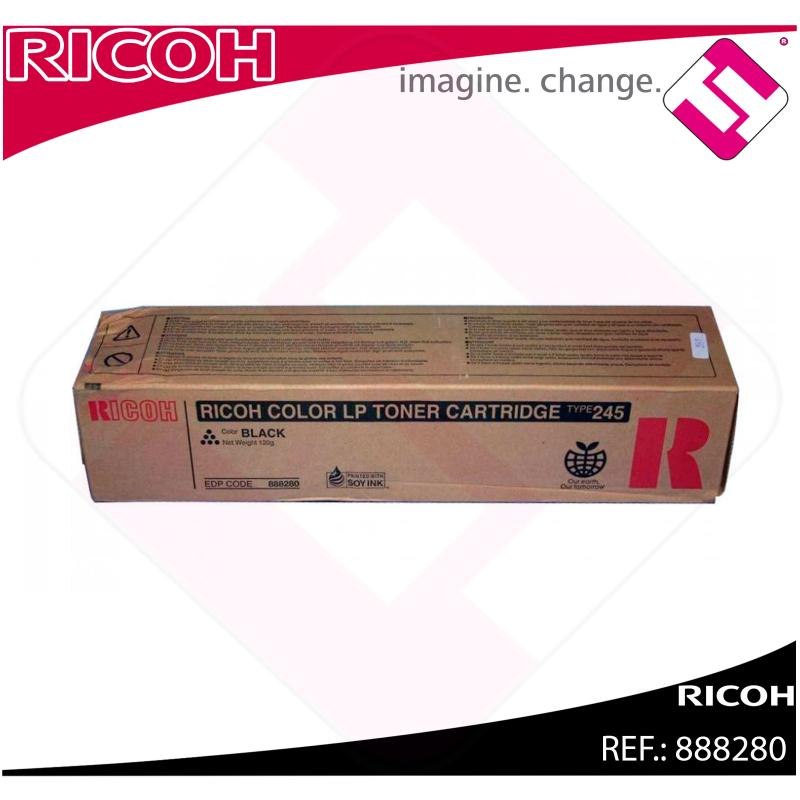 RICOH TONER LASER NEGRO TYPE 245 5.000 PAGINAS CL/4000DN/400