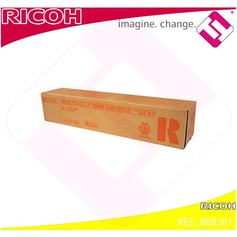 RICOH TONER LASER AMARILLO TYPE 245 CL/4000DN/4000HDN SPC/41