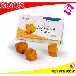 XEROX CARTUCHO TINTA SOLIDA AMARILLO 3 BARRAS PHASER 8400