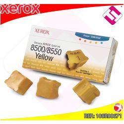 XEROX CARTUCHO TINTA SOLIDA AMARILLO 3 BARRAS PHASER/8500/85